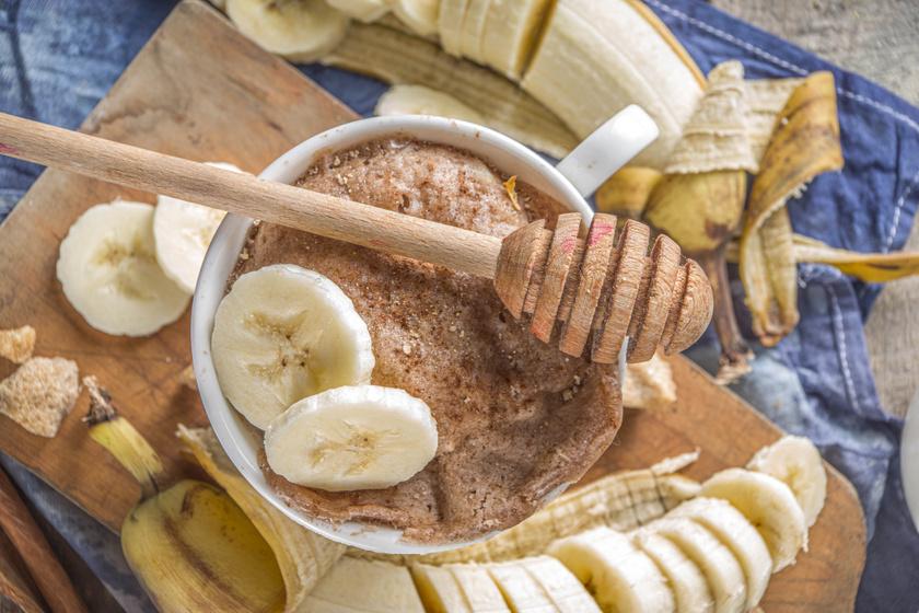 Egyedényes banános kevert süti: ha villámgyorsan ennél valami finomat