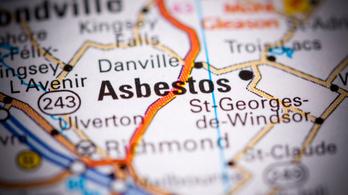 Nevet váltott Kanadában Azbeszt városa