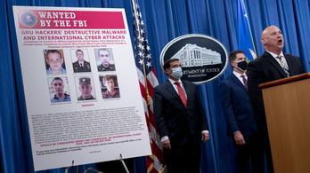Orosz hírszerzők ellen emeltek vádat hackerkedés miatt az Egyesült Államokban