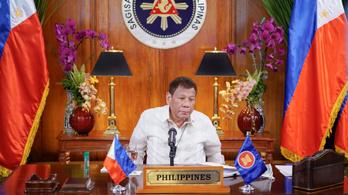 Csaknem 6000 halottat számlál eddig a Duterte-féle drogellenes hadjárat, az elnök kész börtönbe menni