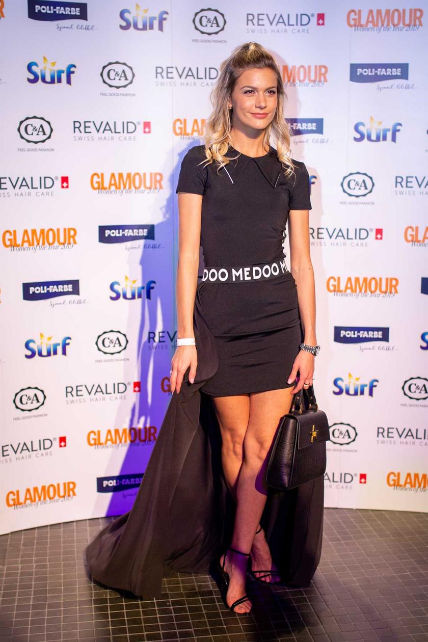 Weisz Fanni a 2019-es Glamour-gálán