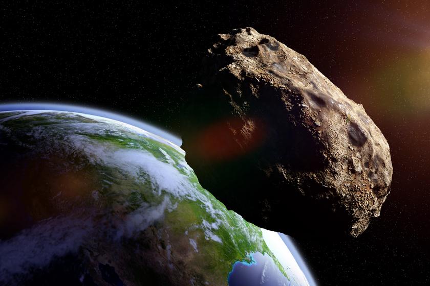 Ismét egy hatalmas aszteroida kerül a Föld közelébe - Holnap halad el mellettünk