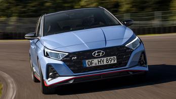Elkészült a villámgyors Hyundai i20 N
