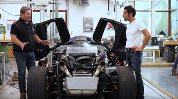 Így kel életre Gordon Murray szupersportkocsija