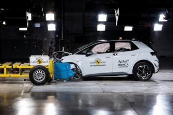 Biztonságból jeles a VW ID.3