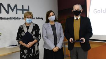 Novotny Zoltán és Sarlós Péterné kapta az NMHH idei két életműdíját