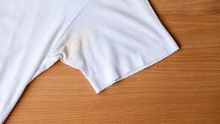 Hogy lehet kiszedni a sárga izzadságfoltot a ruhából?