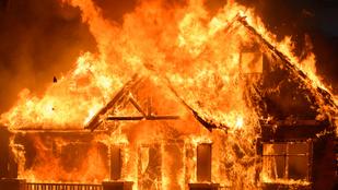 Égető szerelem: felgyújtotta volt élettársa házát