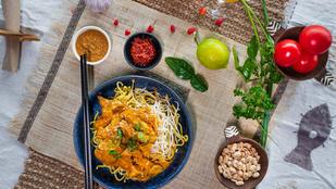 Ez a kínai csirkecurry izgalmas, mégis kalóriaszegény fogás