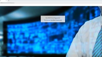 Felfüggesztették az SZFE honlapját