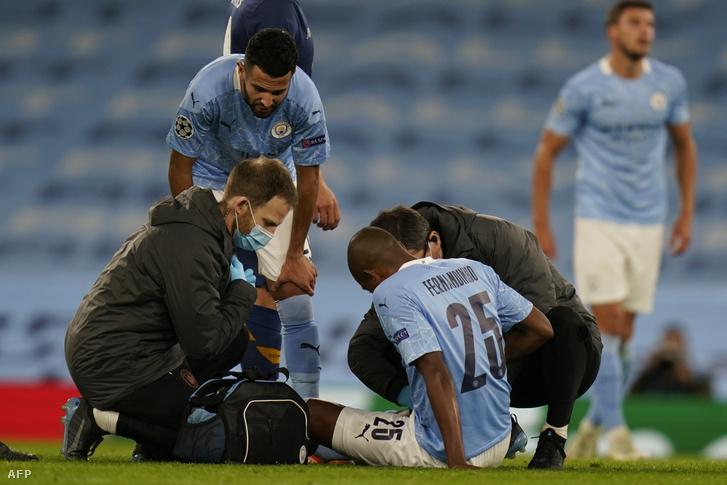 Fernandinho megsérült