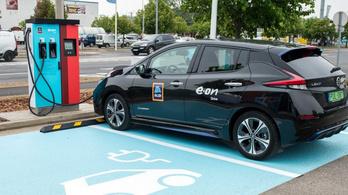 Az E.ON-nál is vége lesz az ingyen villanyautó-töltésnek