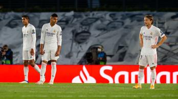 A Real Madrid nem volt méltó a Bajnokok Ligájához