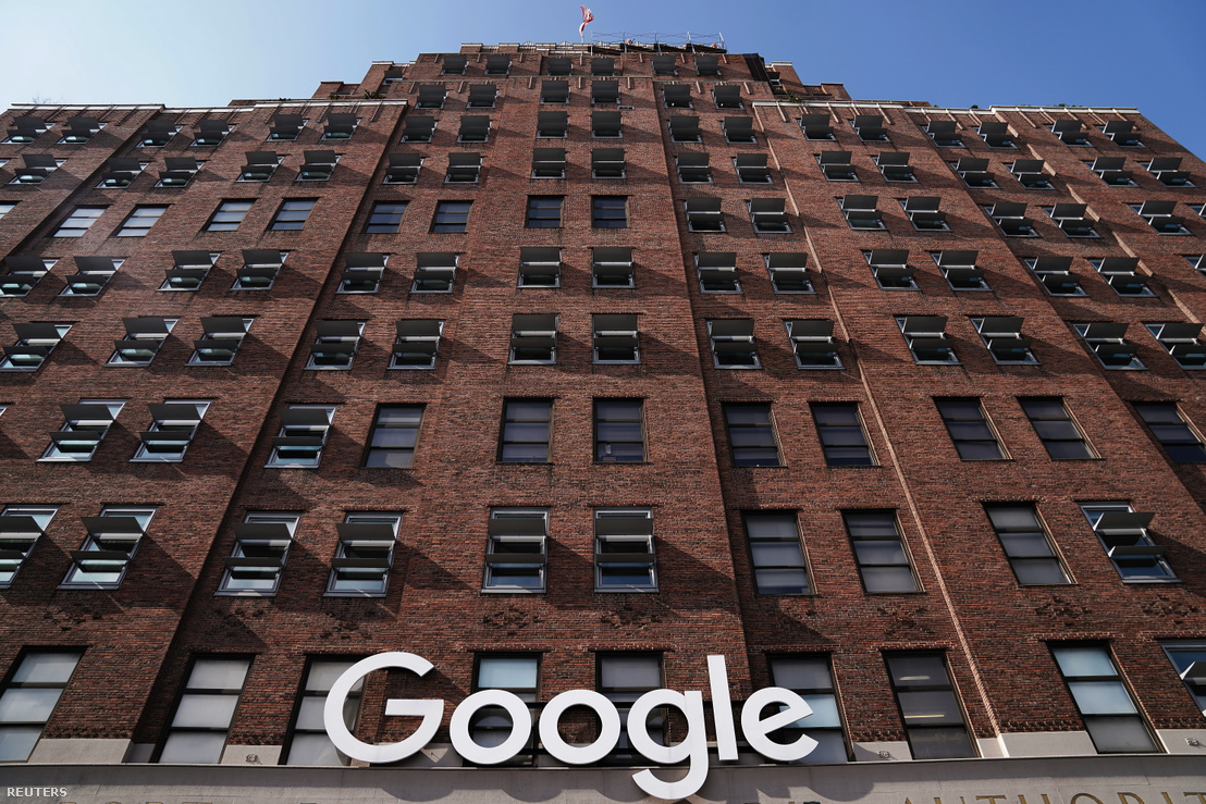 Google épülete Manhattanben