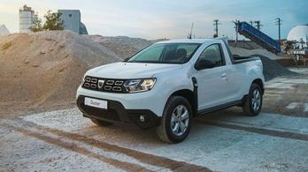 Elkészült az újabb platós Dacia Duster