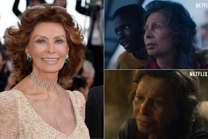 Sophia Lorent nem a megszokott külsővel láthatjuk viszont a drámában, amely november 13-án érkezik a Netflixre.