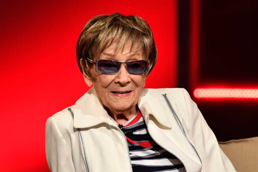 Friss fotón Békés Itala: 93 évesen ő az ország legidősebb aktív színésznője