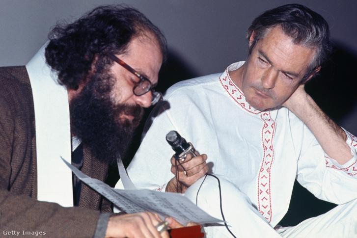 Tim Leary és Allen Ginsberg a 60-as években