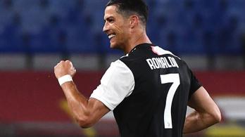 Kérdéses Ronaldo játéka a Fradi ellen