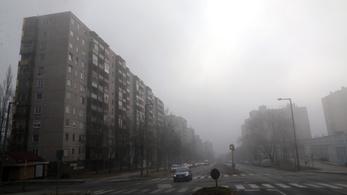 Elindult a fűtési szezon, rögtön romlott a levegőminőség