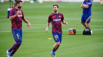 Piqué szerint Messiről kellene elnevezni a Barca új stadionját