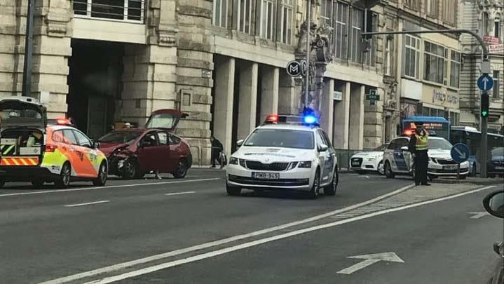 rendőrbaleset
