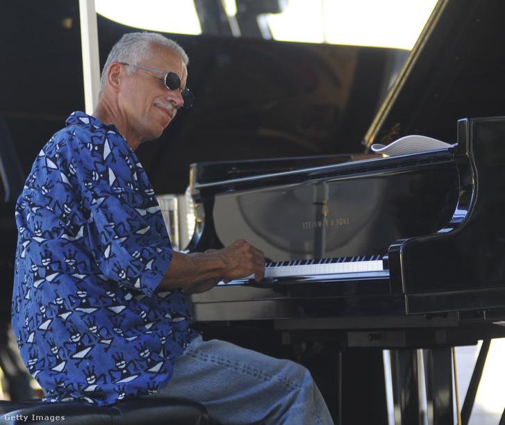 Keith Jarrett 2010-ben Antibes-ban