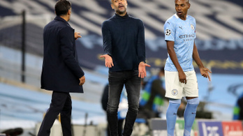 """Guardiola szerint hátrányt szenvednek az """"őrült"""" meccsnaptár miatt"""