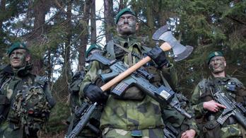 Oroszországnak nem tetszik, hogy fegyverkeznek a svédek