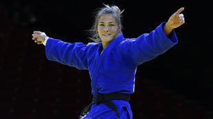 Karakas Hedvig bronzérmes lett a budapesti GS-versenyen