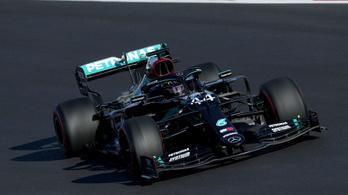 F1: Bottas nyerte mindkét szabadedzést, Verstappen ütközött Portimaoban
