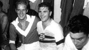 19 56 – El Clásico az Aranycsapat legendáival