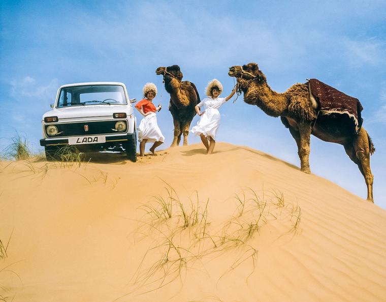 Bizony-bizony: a Nivának a sivatagi homokdűnék sem jelentenek akadályt