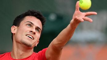 Balázs Attila főtáblára jutott a bécsi tenisztornán