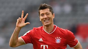 Lewandowski triplájával nyert a Bayern, Gulácsiék hátrányból fordítottak