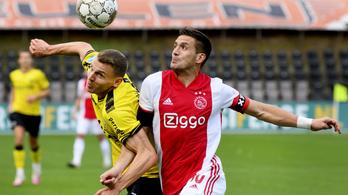 Nem elírás: 13–0-ra nyert élvonalbeli bajnokit az Ajax