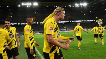 Simán nyerte a Dortmund a Ruhr-vidéki derbit, Haaland ismét varázsolt