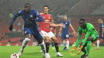 Nem bírt egymással a Manchester United és a Chelsea