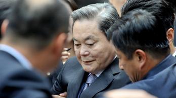 Meghalt Li Kun Hi, a Samsung elnöke