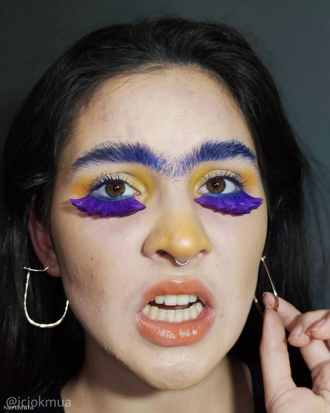 Borkowska régóta kísérletezget a sminkeléssel, és az Instagramján autodidakta sminkmesterként mutatkozik be.