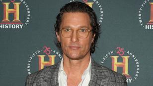 Matthew McConaughey elvből nem randizott sose kolléganővel