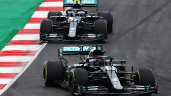 Hamilton nyerte a portugál nagydíjat, megdöntötte Schumacher győzelmi rekordját