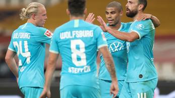 Először nem ikszelt a Wolfsburg a Bundesligában