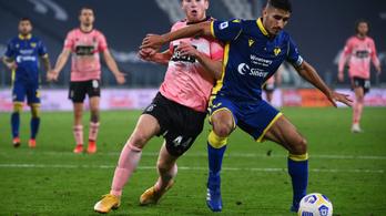 Gyönyörű góllal mentett pontot a Juventusnak a svéd csatár