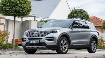 Hazai bemutató: Ford Explorer – 2020.
