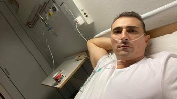 Oxigénnel segítik a koronavírusos csepeli polgármester légzését