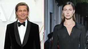 Brad Pitt 27 éves modellbarátnője visszament a férjéhez