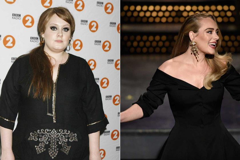 Adele 2008-ban és 2020. október 24-én a Saturday Night Live című műsorban.