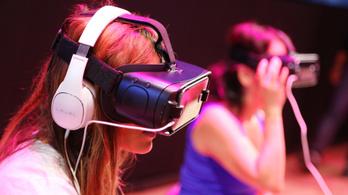 Csúcsfelbontású virtuális valóság sisakot fejleszt a Samsung