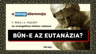 A hónap dilemmája: Bűn-e az eutanázia? Az evangélikus lelkész válasza
